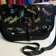 Small messenger bag - Dragonflies
