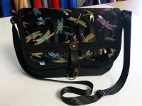 Small messenger bag - Dragonflies