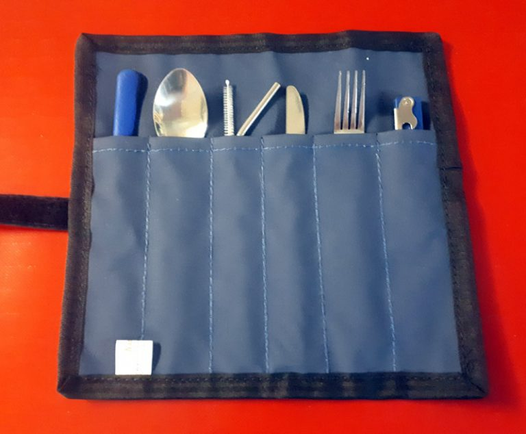 Canvas Cutlery Roll