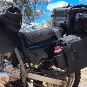 Standard panniers and Large Top Bag